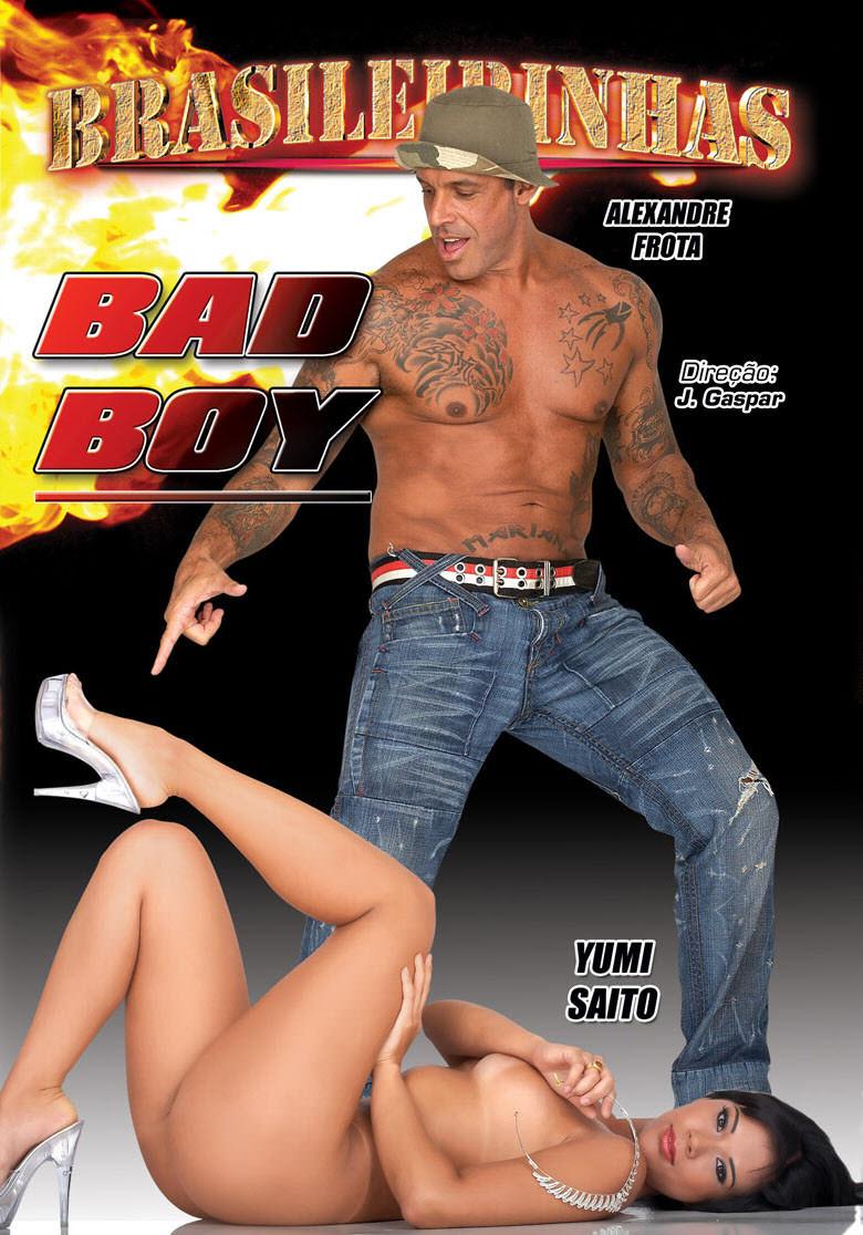 Capa frente do filme Bad boy