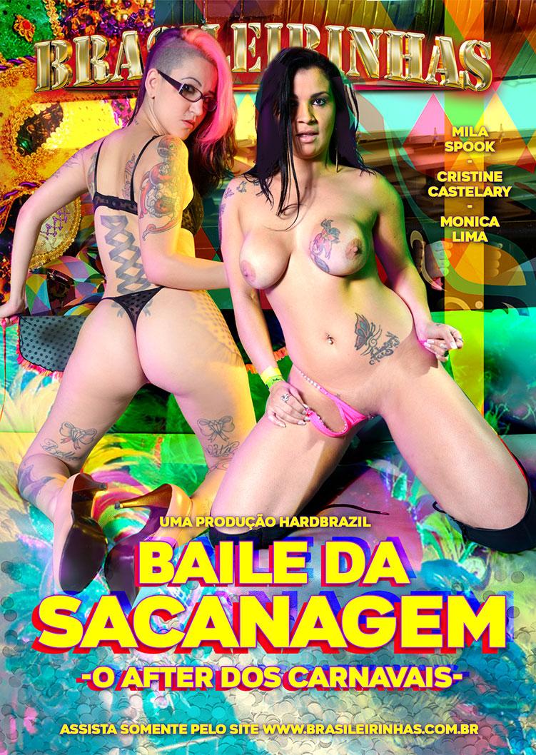 Capa frente do filme Baile da Sacanagem