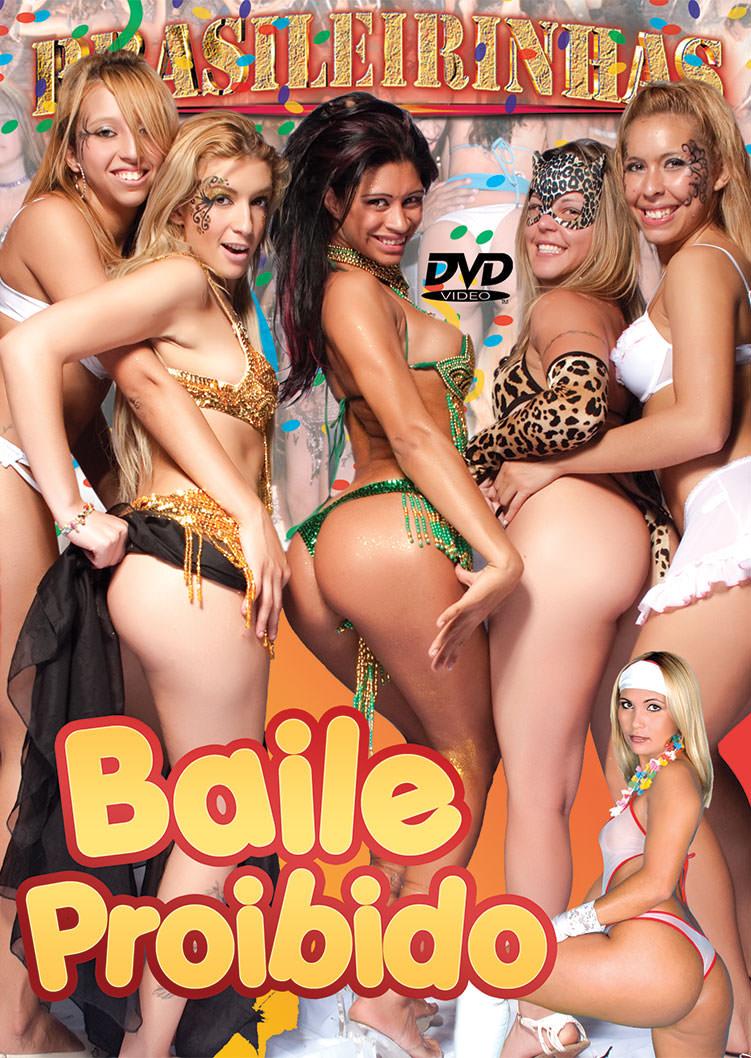 Capa frente do filme Baile Proibido