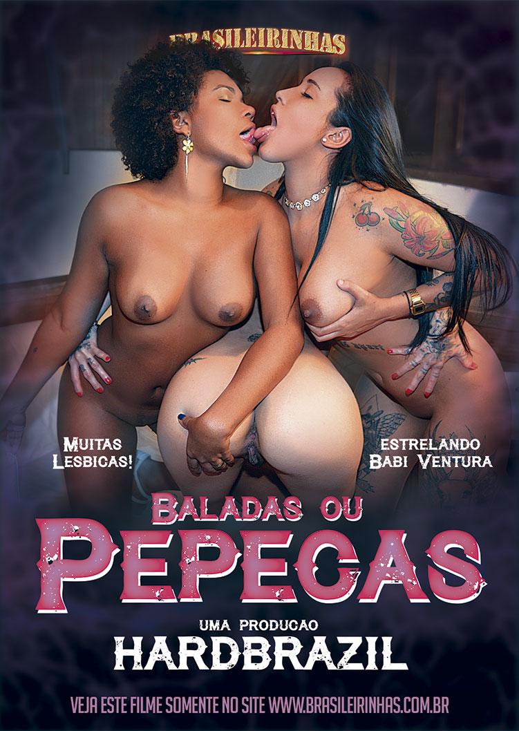 Capa frente do filme Baladas ou Pepecas