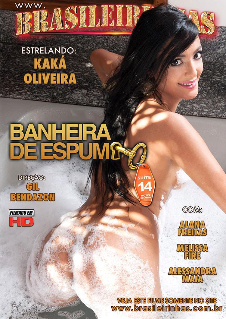 Capa frente do filme Banheira de Espuma