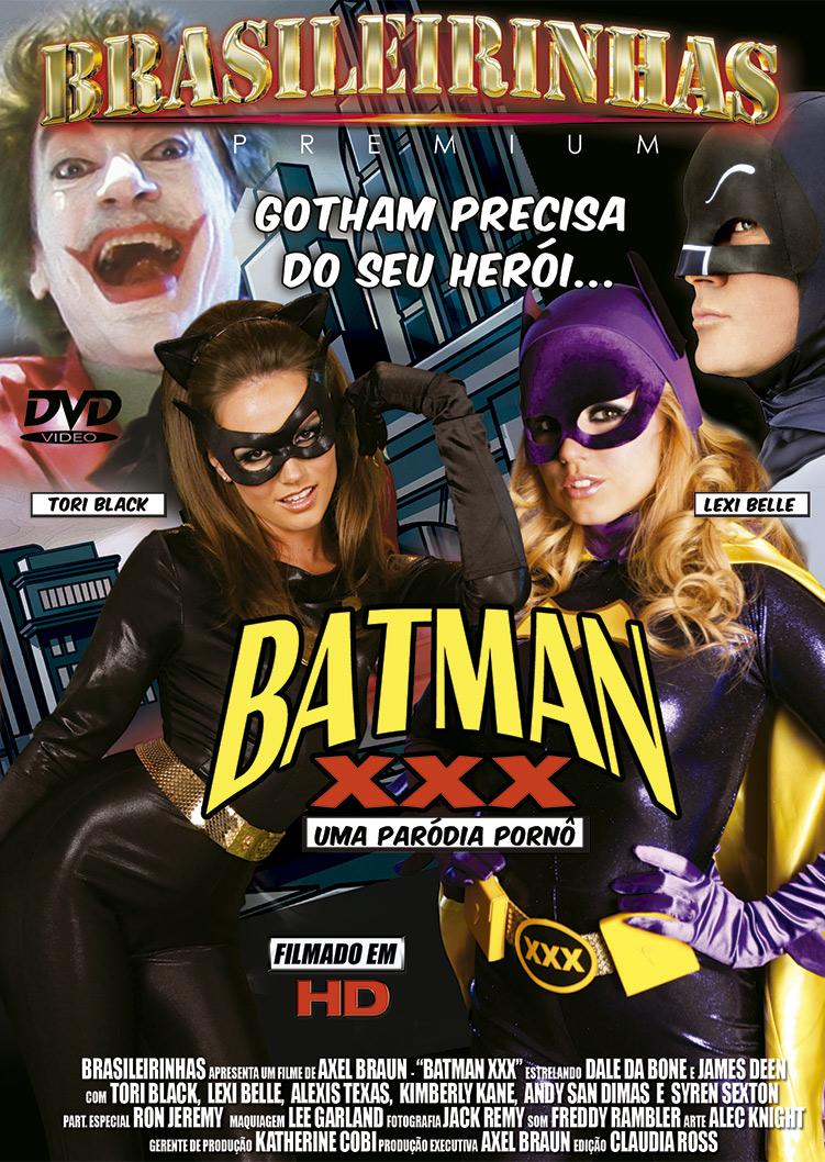 Capa frente do filme Batman XXX