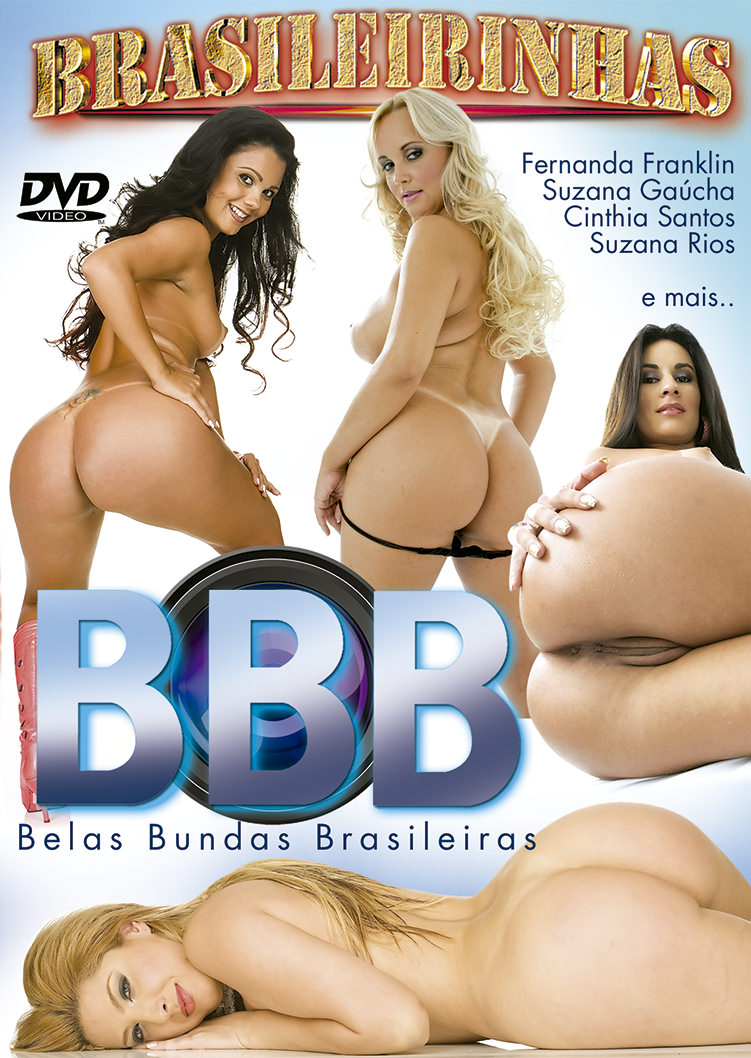 Capa frente do filme Belas Bundas Brasileiras