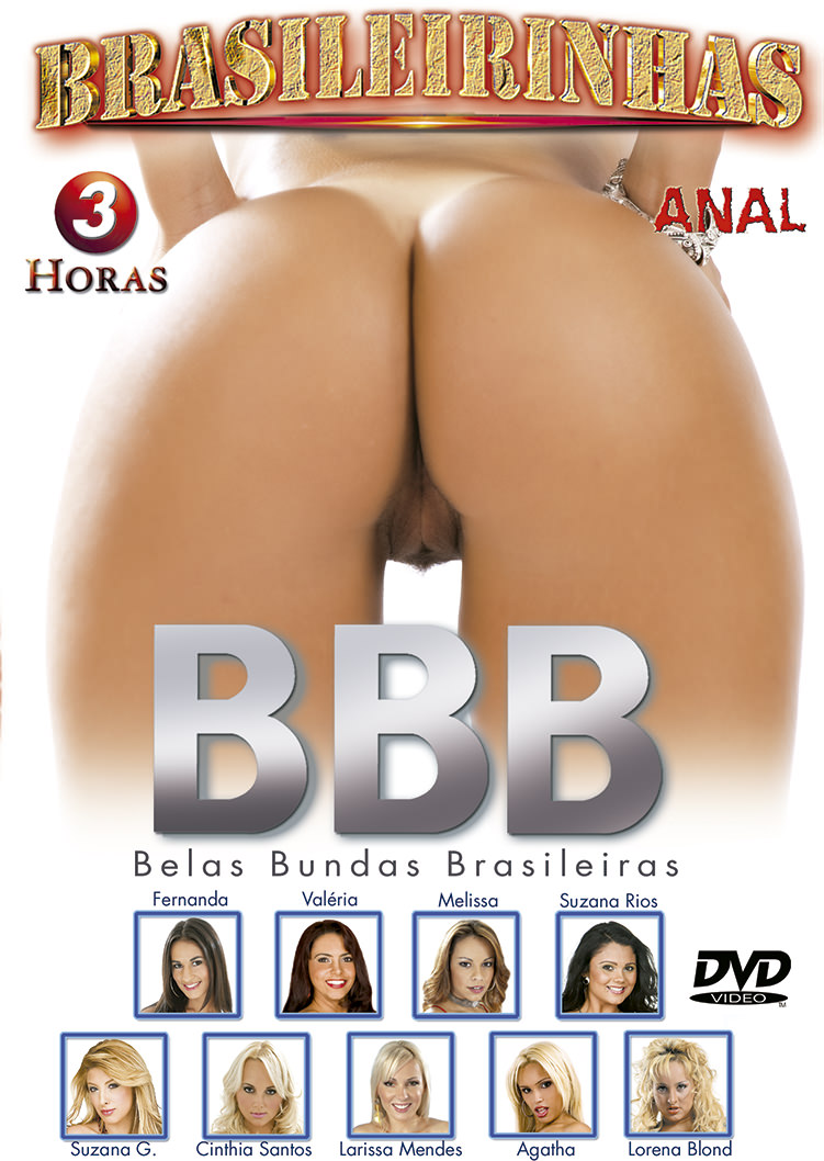 Capa Hard do filme Belas Bundas Brasileiras