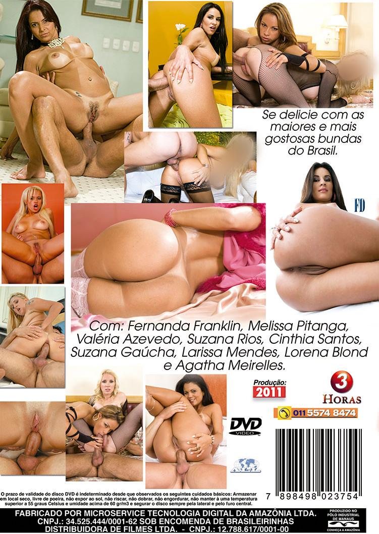 Capa tras do filme Belas Bundas Brasileiras