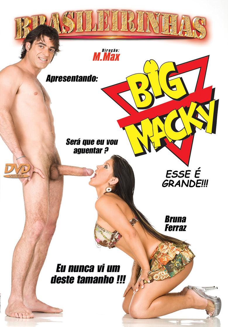 Capa frente do filme Big Macky