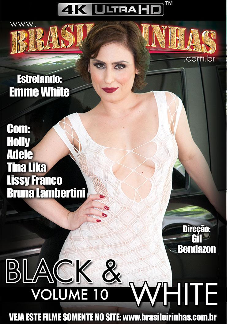 Capa Hard do filme Black And White 10