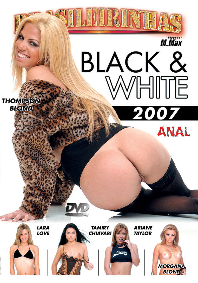 Capa frente do filme Black e White 2007