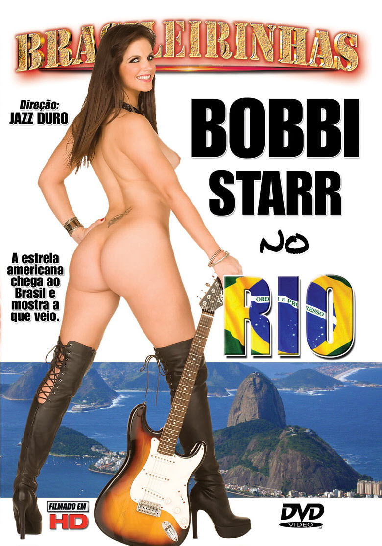 Capa frente do filme Bobbi Starr no rio