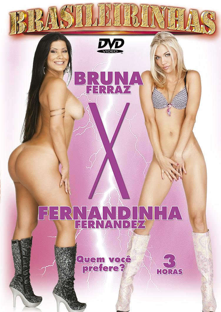 Capa frente do filme Bruna Ferraz vs Fernandinha Fernandez