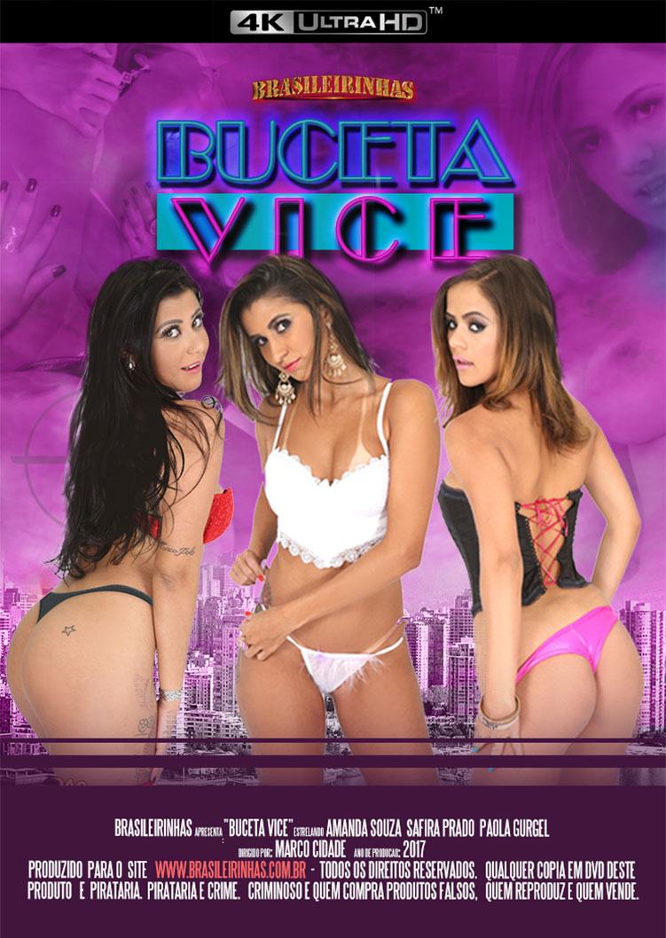 Capa frente do filme Buceta Vice 4k
