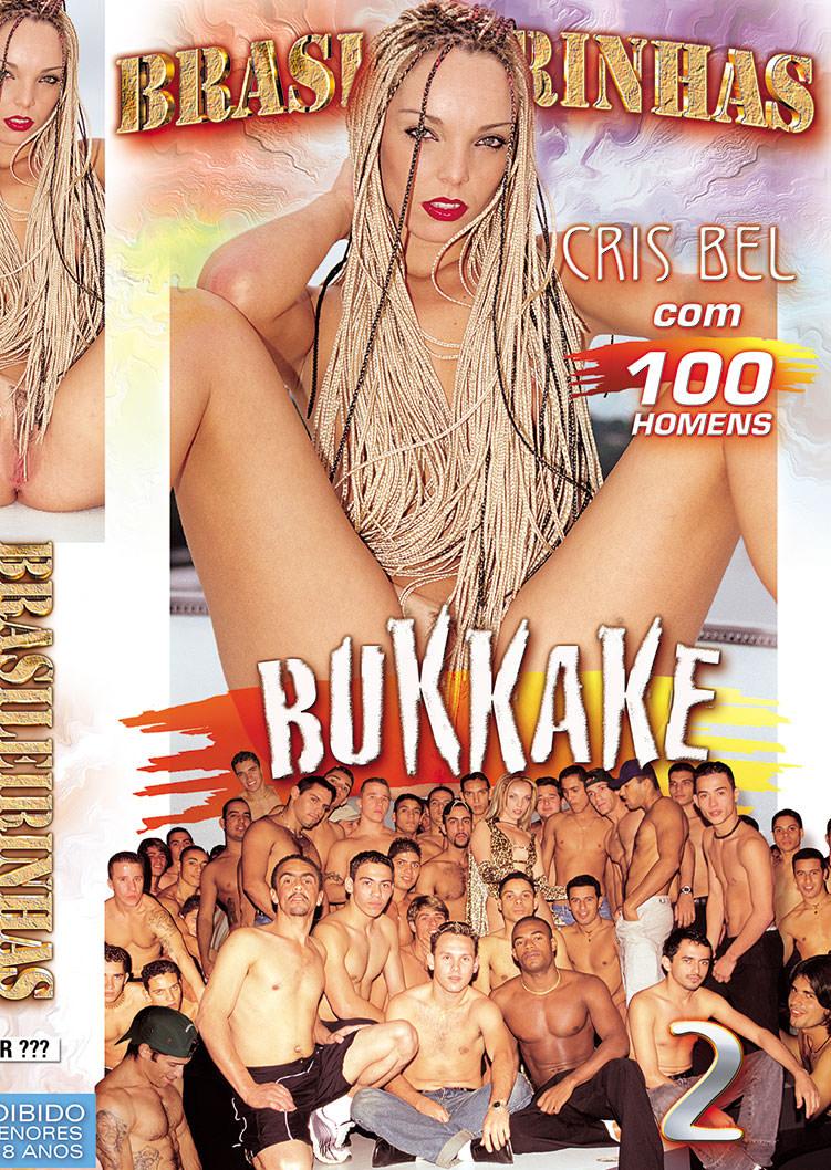 Capa frente do filme Bukkake Cris Bel