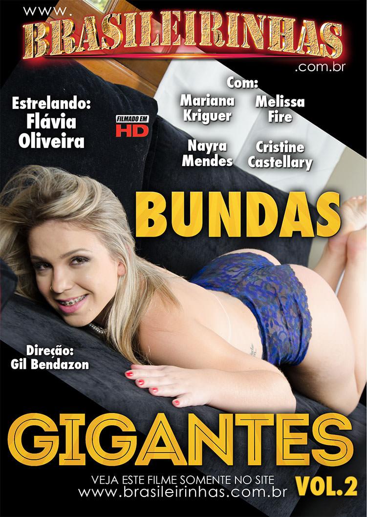 Capa Hard do filme Bundas Gigantes 2