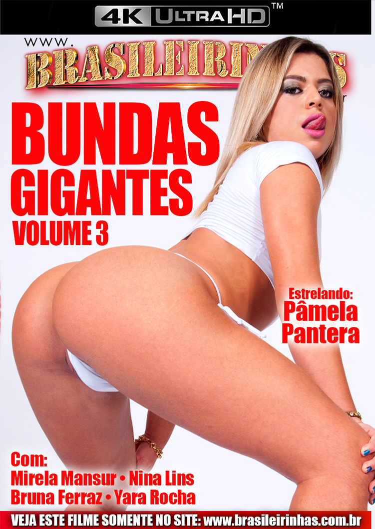 Capa Hard do filme Bundas Gigantes 3 4k