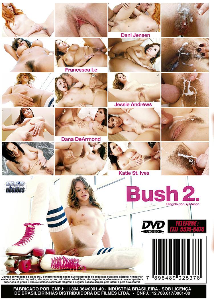 Capa tras do filme Bush Vol 2 (Peludas #2)