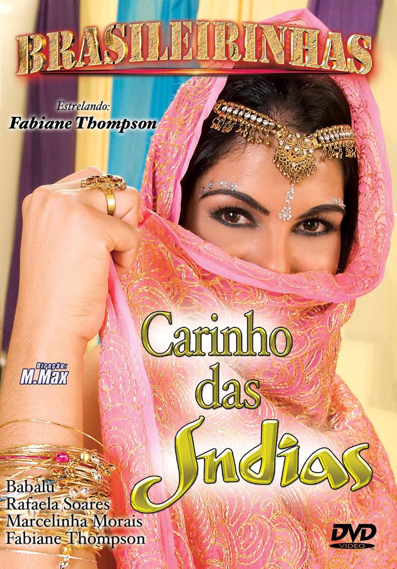 Capa frente do filme Carinho das Indias
