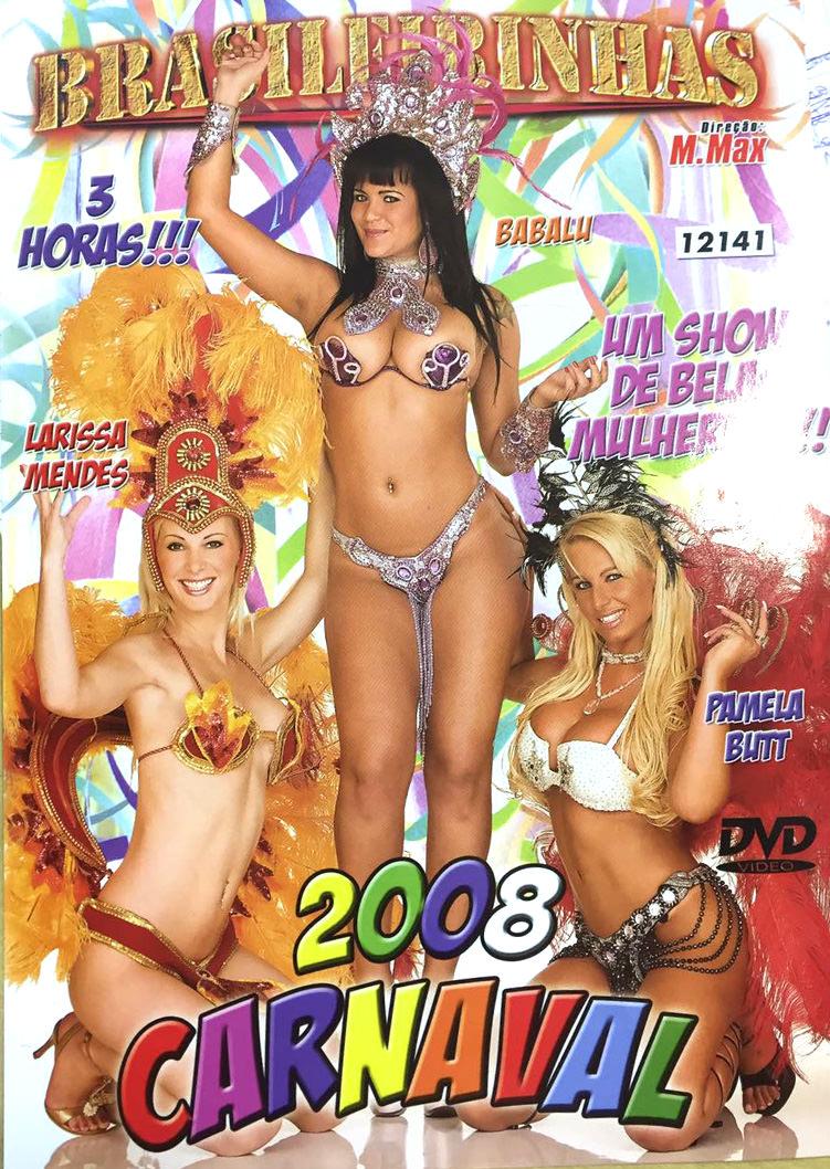 Capa frente do filme Carnaval 2008