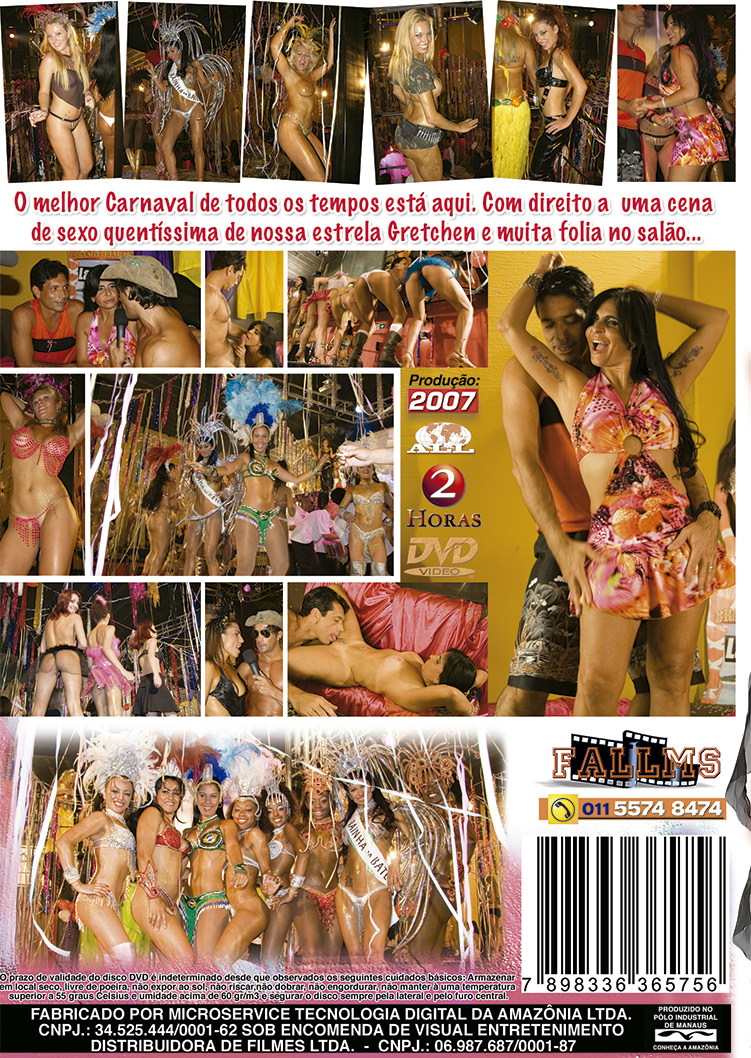 Capa tras do filme Carnaval 2007