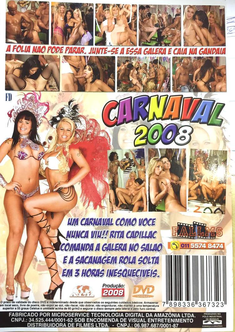 Capa tras do filme Carnaval 2008