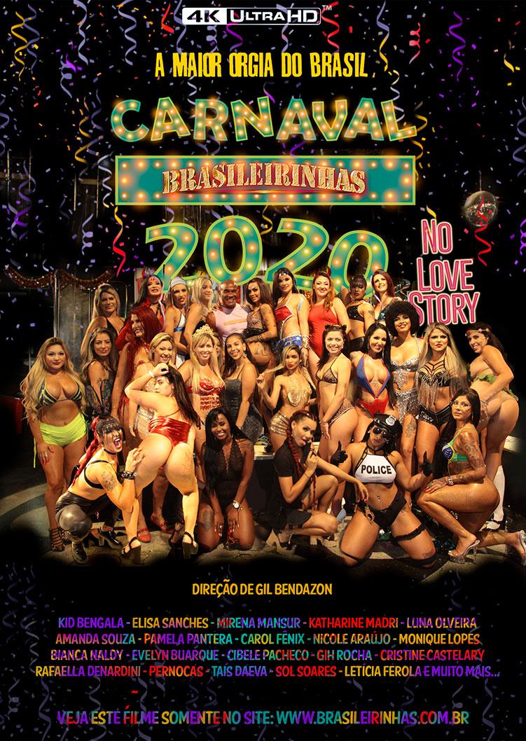 Capa frente do filme Carnaval Brasileirinhas 2020