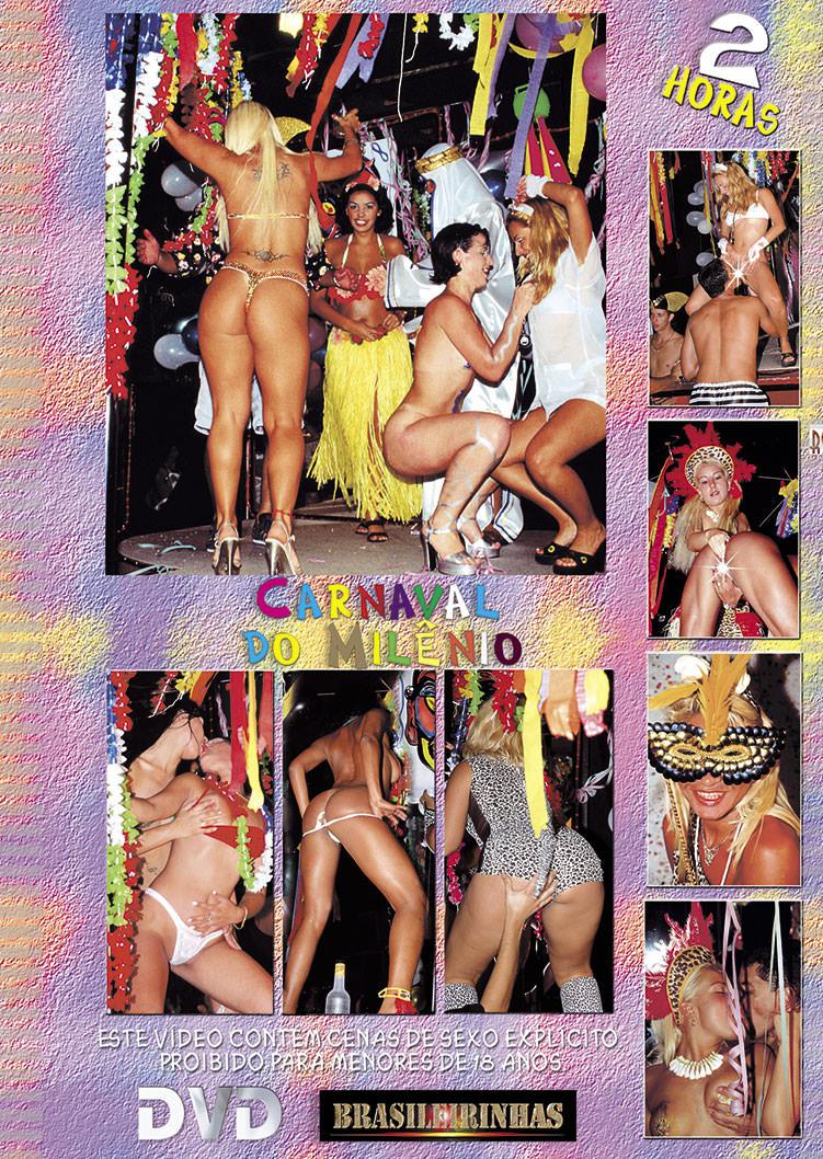 Capa tras do filme Carnaval do Milênio