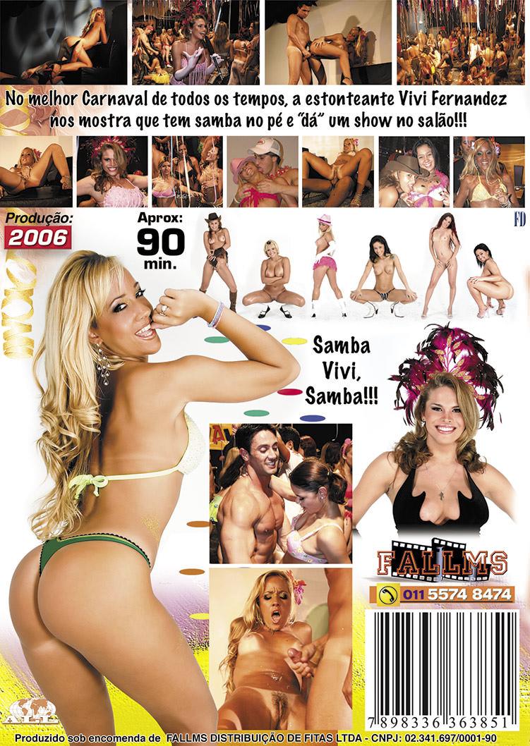 Capa tras do filme Carnaval 2006 (Vivi Fernandez)