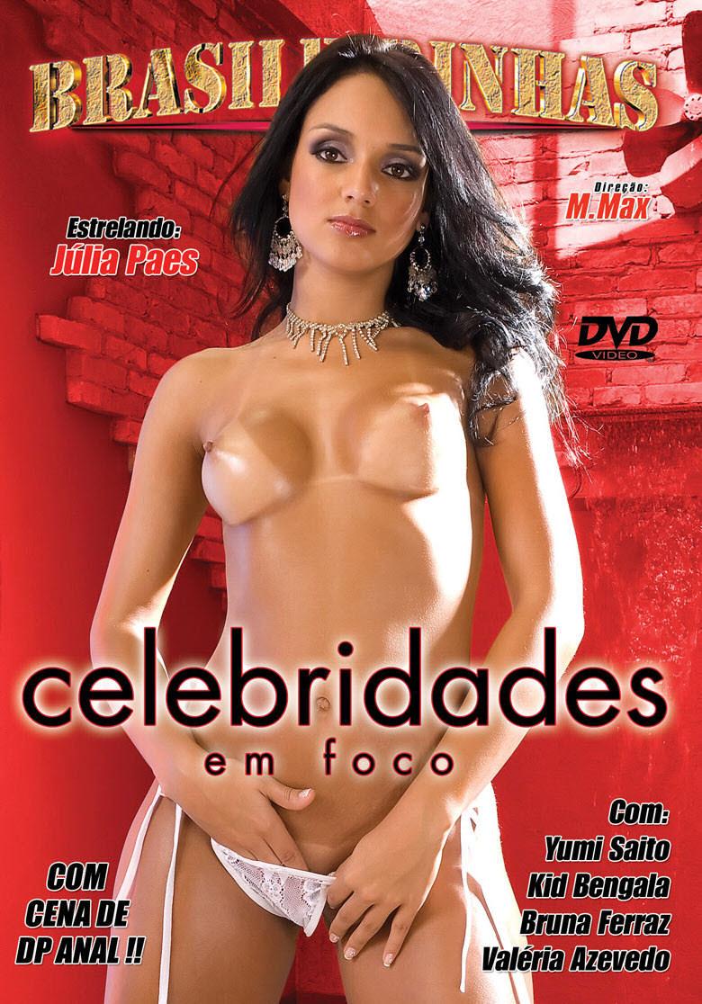 Capa frente do filme Celebridades em Foco