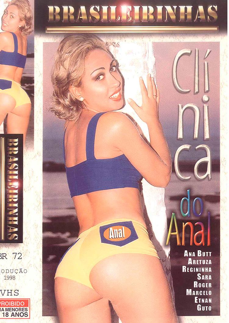 Capa frente do filme Clinica do Anal