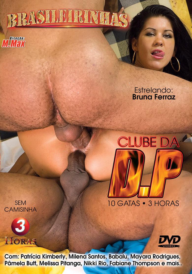 Capa frente do filme Clube da DP