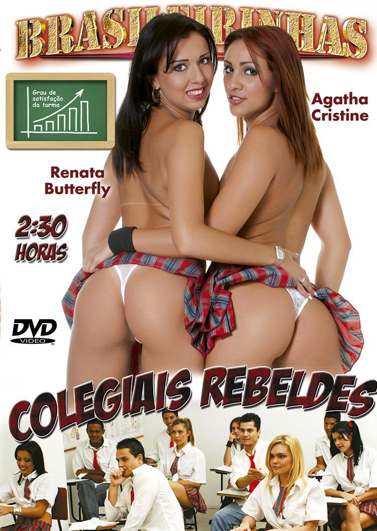 Capa Hard do filme Colegiais Rebeldes