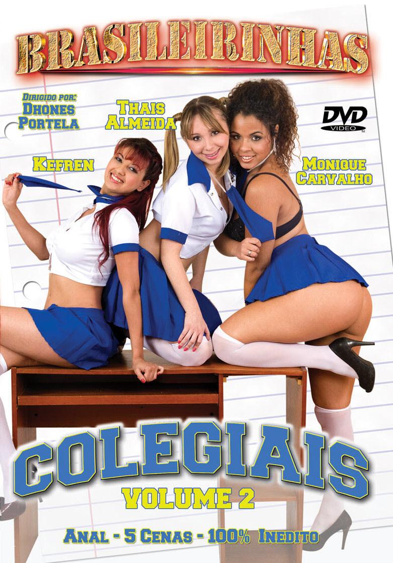 Capa frente do filme Colegiais Vol.2