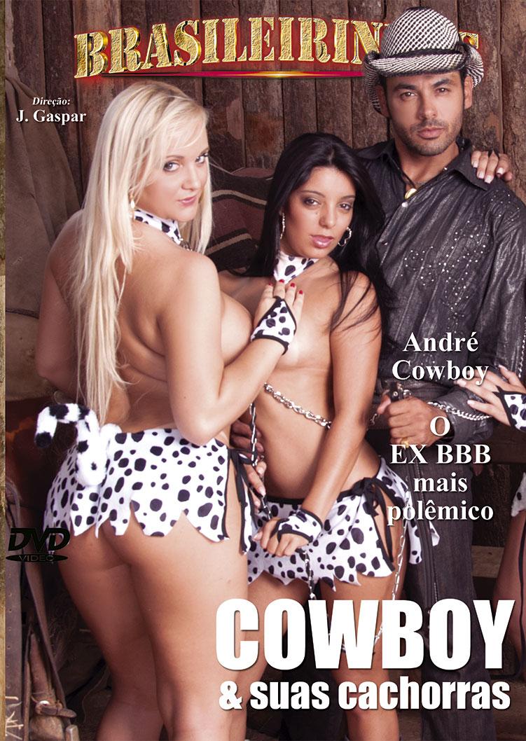 Capa frente do filme Cowboy E Suas Cachorras