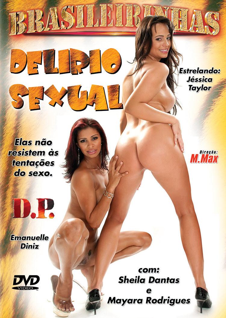 Capa frente do filme Delírio Sexual