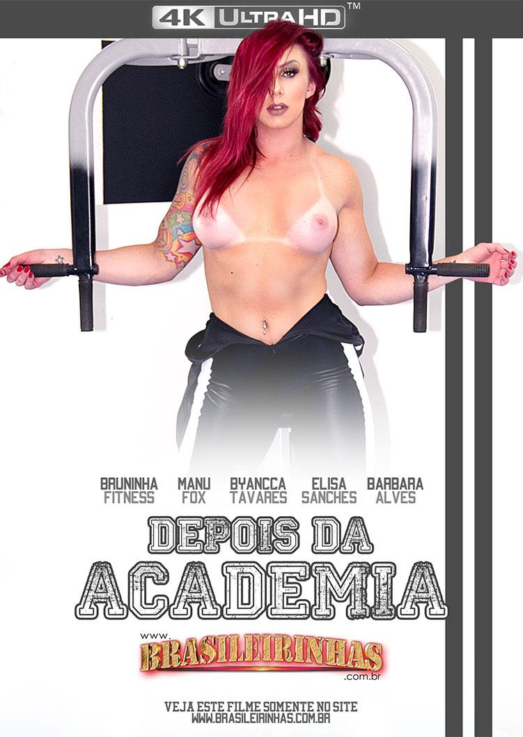 Capa frente do filme Depois da Academia