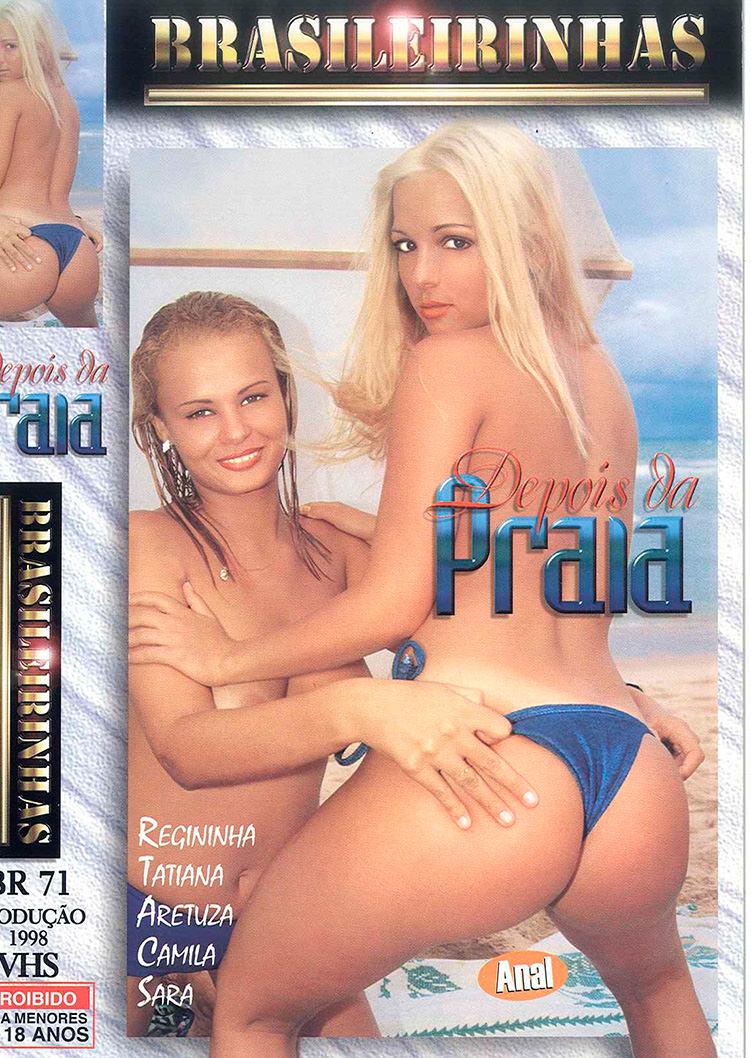 Capa frente do filme Depois da Praia