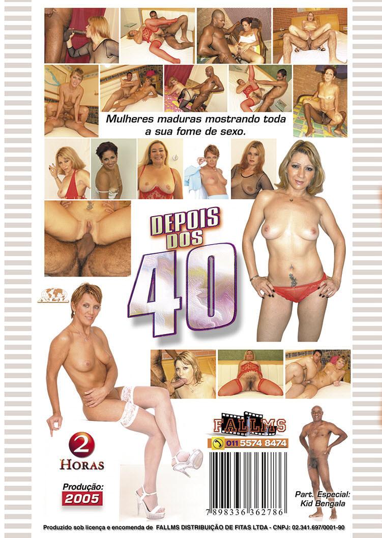 Capa tras do filme Depois Dos 40 Vol 09