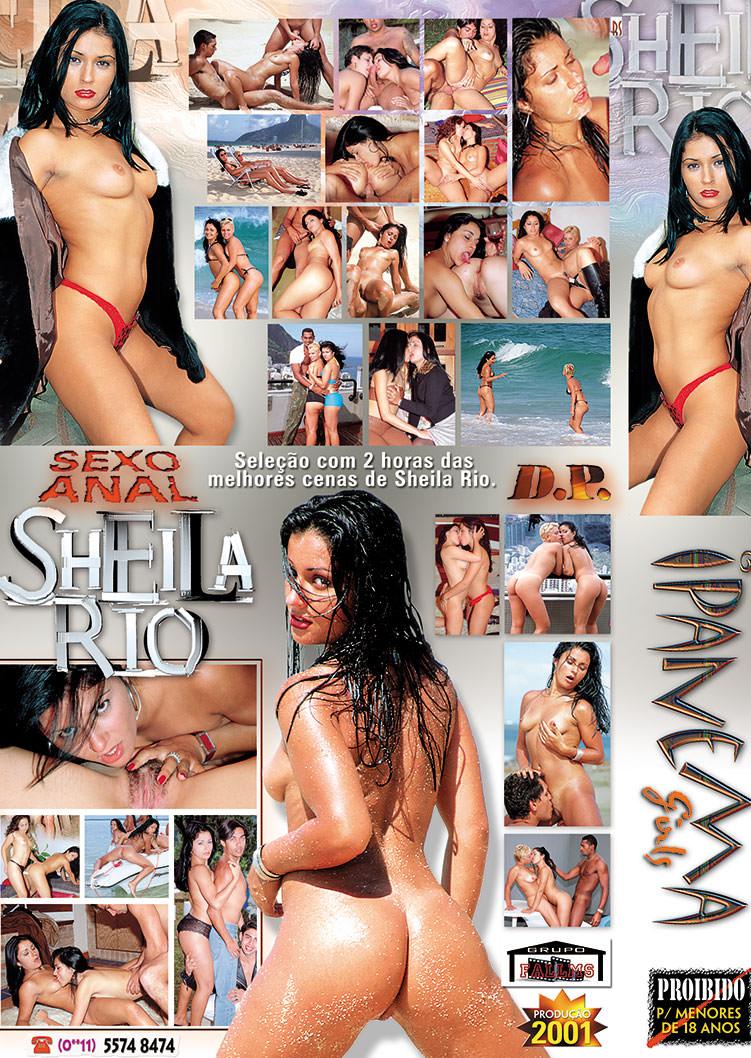 Capa tras do filme Duas Horas Com Sheila Rios