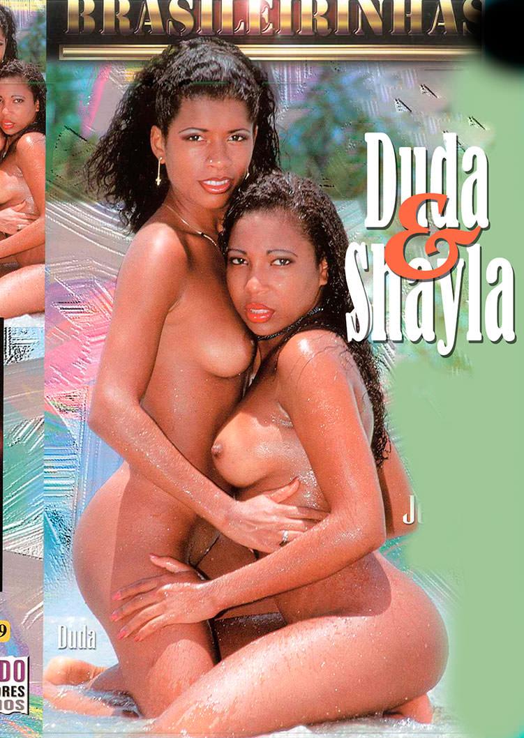 Capa frente do filme Duda e Shayla
