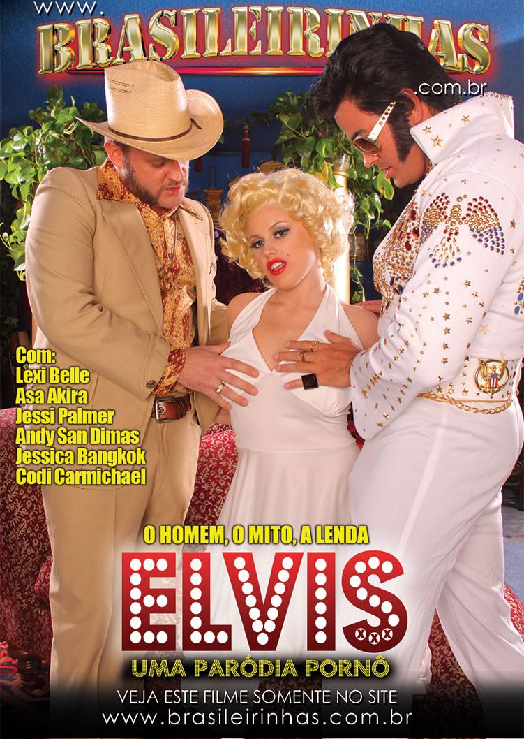 Capa frente do filme Elvis XXX