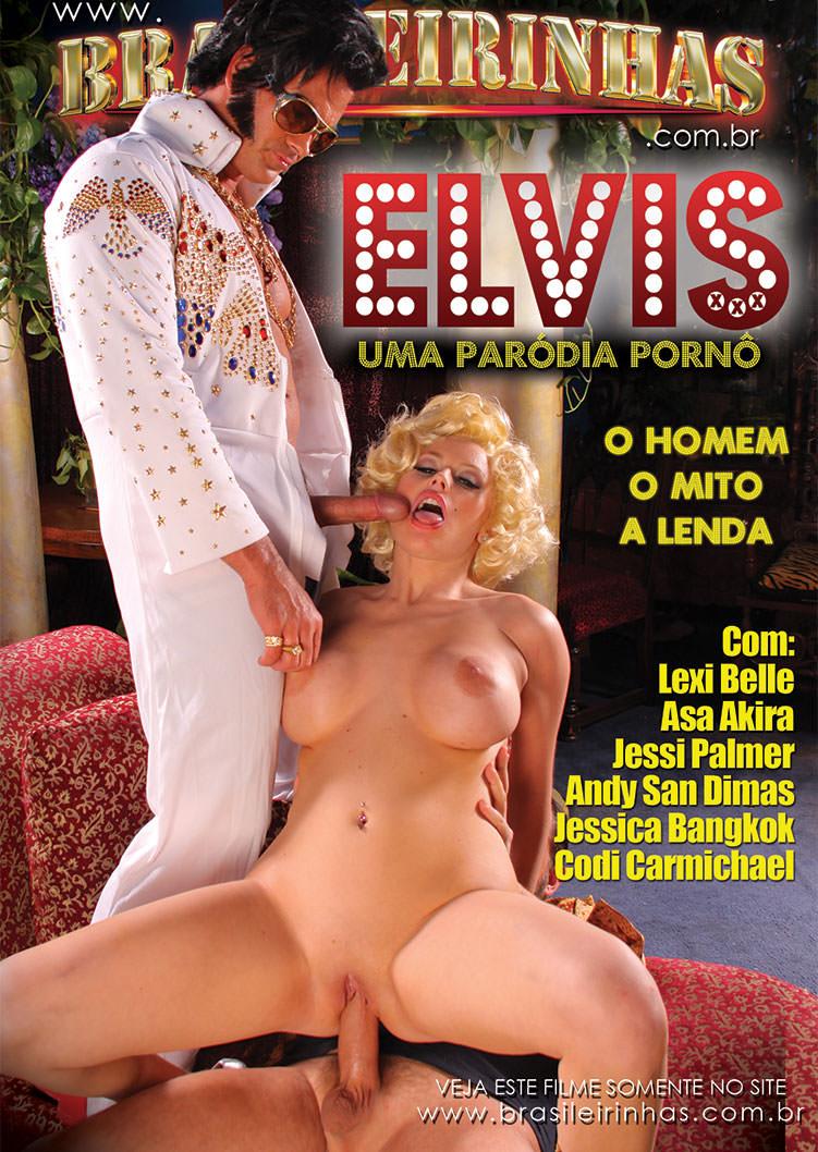 Capa Hard do filme Elvis XXX
