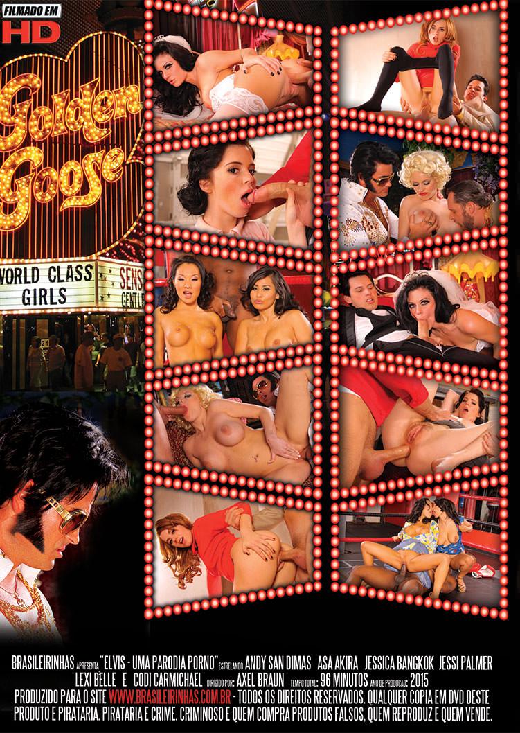 Capa tras do filme Elvis XXX
