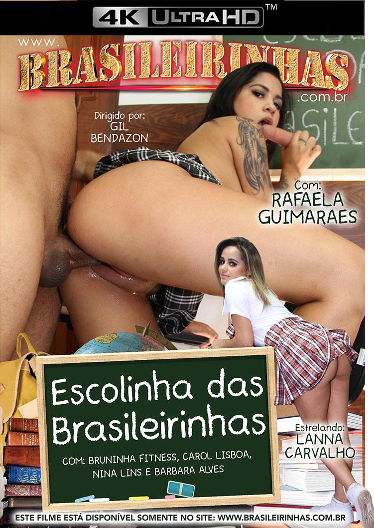 Capa frente do filme Escolinha das Brasileirinhas
