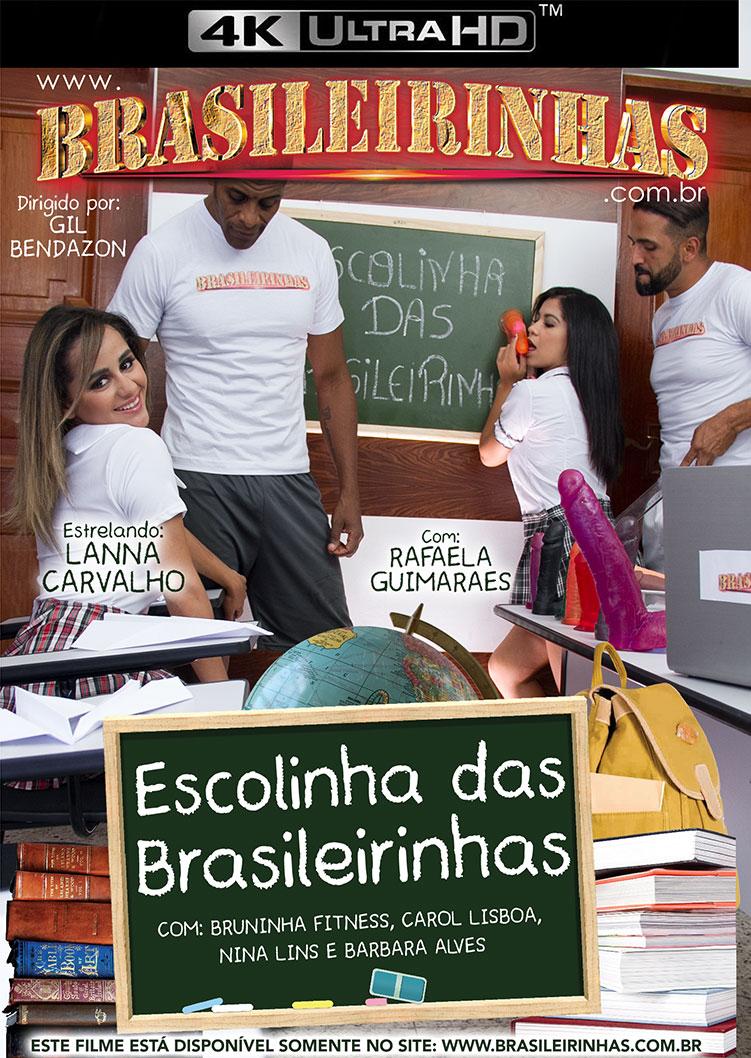Capa Hard do filme Escolinha das Brasileirinhas