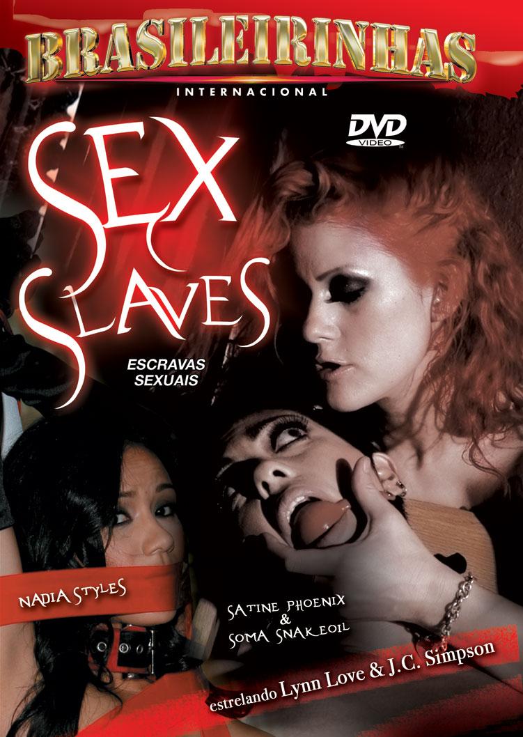 Capa frente do filme Escravas Sexuais
