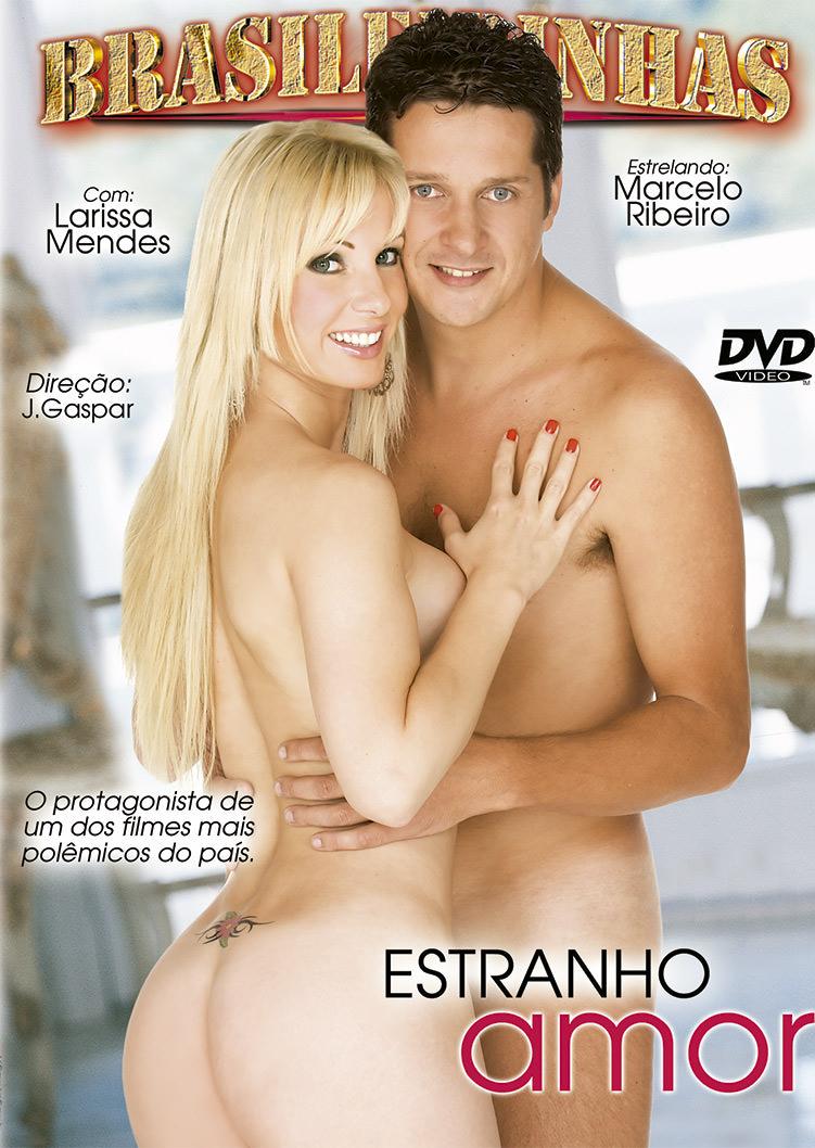Capa Hard do filme Estranho Amor