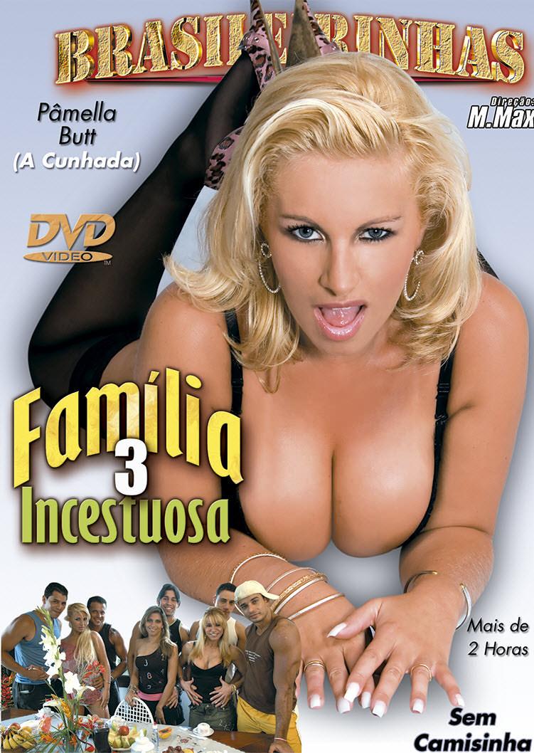 Capa frente do filme Família Incestuosa 3