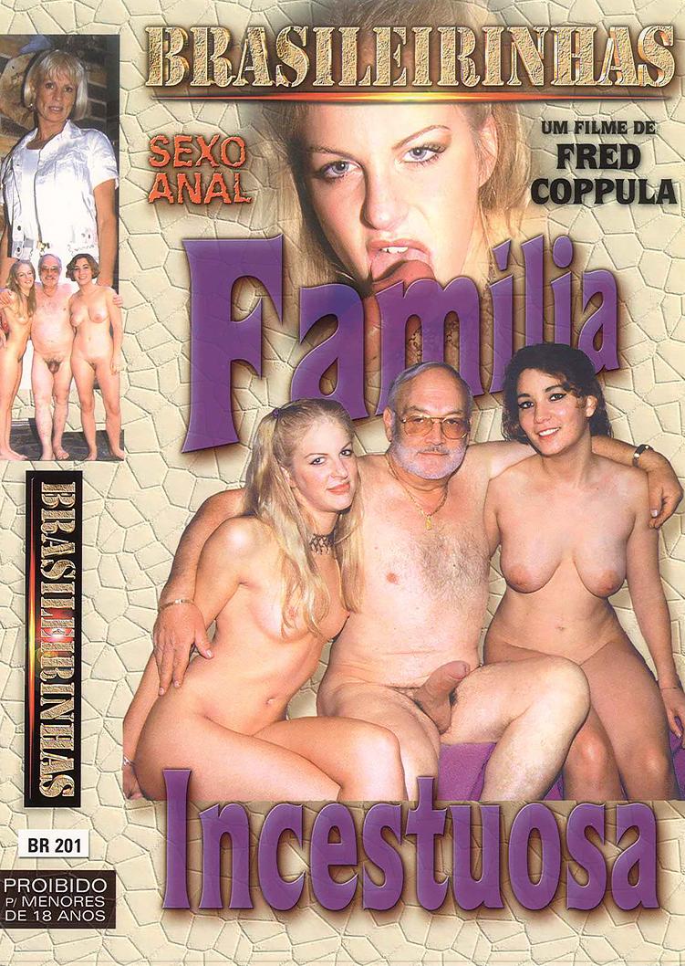 Capa frente do filme Família Incestuosa