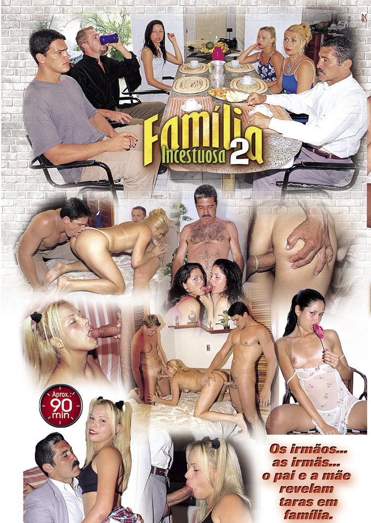 Capa tras do filme Família Incestuosa 2