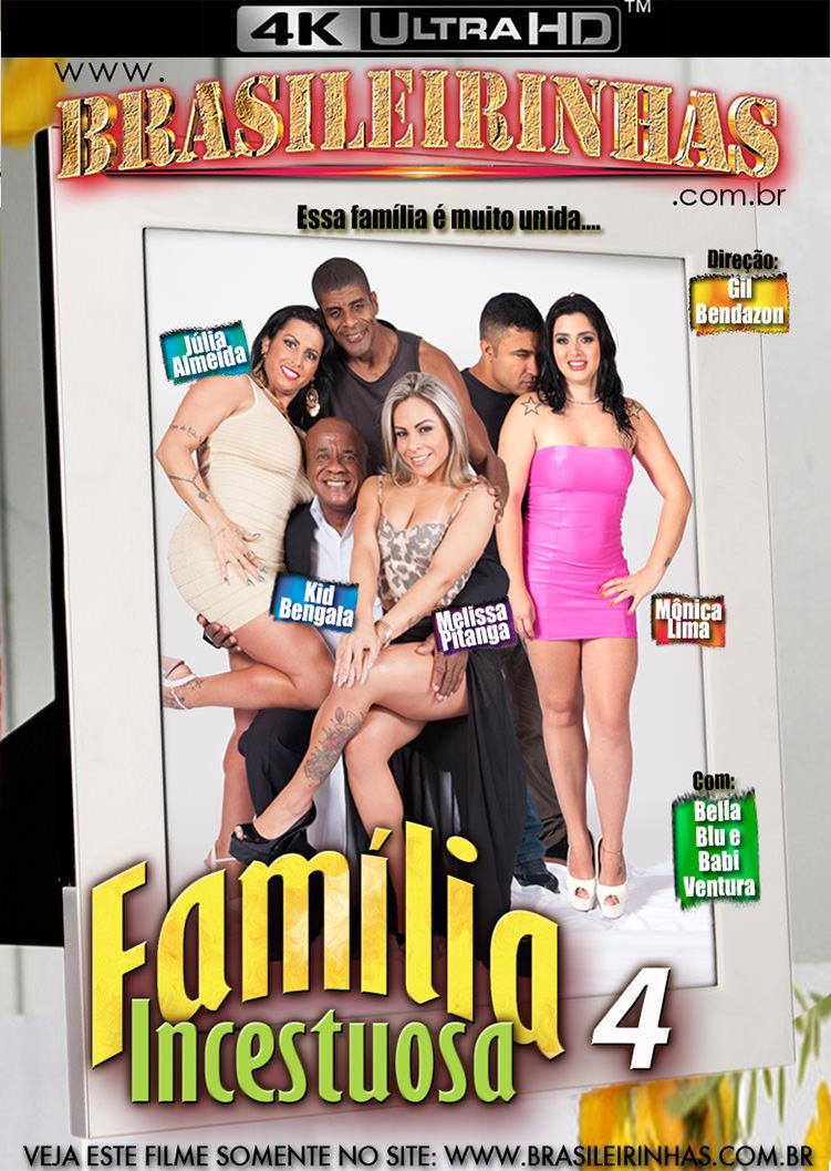 Capa Hard do filme Família Incestuosa 4 4k
