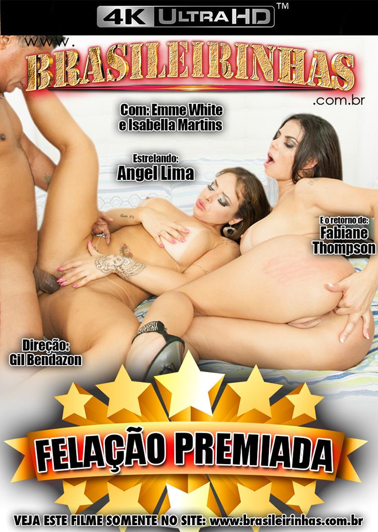 Capa frente do filme Felação Premiada 4k